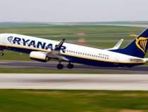 Un avion Ryanair, blocat la...
