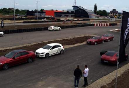 Trei ore de adrenalina cu Mercedes-AMG pe circuitul lui Titi Aur