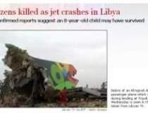 Tragedie aviatica in Tripoli
