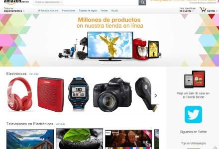 """Gigantul Amazon spune """"Hola!"""" mexicanilor dupa deschiderea primului magazin online din America Latina"""