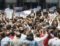 Protestatari arestati in...