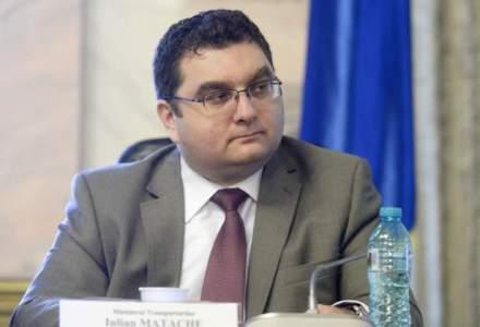 Iulian Matache e, oficial, ministru al Transporturilor