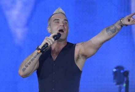 Robbie Williams, la finalul concertului: Nu stiam ca sunt atat de iubit aici; sper ca v-ati distrat