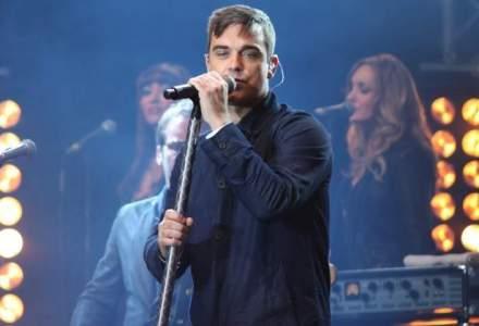 Robbie Williams a plecat din Romania astazi, la ora 14.00, cu un avion privat