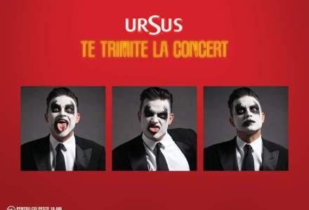 Cati oameni au cerut Ursus baxuri de bere dupa concertul Robbie Williams