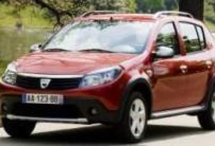 Inmatricularile Dacia s-au triplat in Franta in luna mai