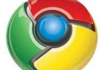 Browserul Chrome isi mareste popularitatea de la o luna la alta