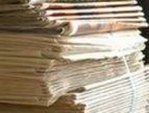Vanzarile de ziare in cadere...