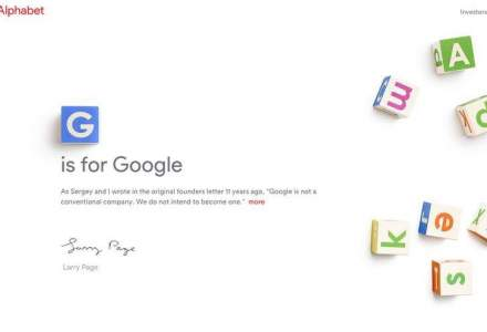 Google - Alphabet: ce inseamna ca arhitectura de brand a unui gigant se descentralizeaza