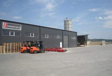 Investitie de 1.5 mil. euro in extinderea fabricii de pavele si borduri Symmetrica