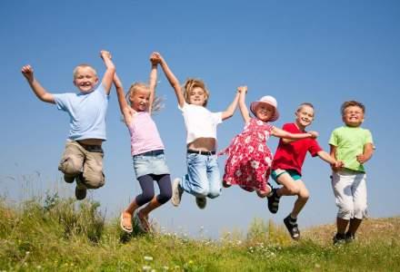 Studiu: Copiii din Romania sunt cei mai fericiti, iar britanicii sunt printre cei mai nefericiti
