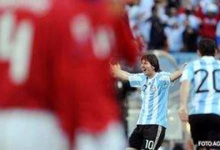 Argentina vs. Coreea de Sud - Economie si fotbal. 4-1