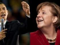Obama si Merkel au discutat...