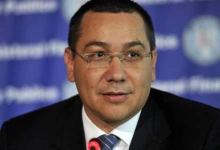 Premierul Victor Ponta anunta sedinta comuna cu Guvernul Republicii Moldova