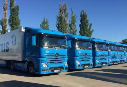 O firma din Pitesti a achizitionat o flota de 27 camioane Mercedes-Benz Actros