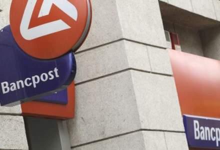 Bancpost a raportat un profit net de 34,6 mil. lei in primul semestru, pe fondul scaderii cheltuielilor cu 18%