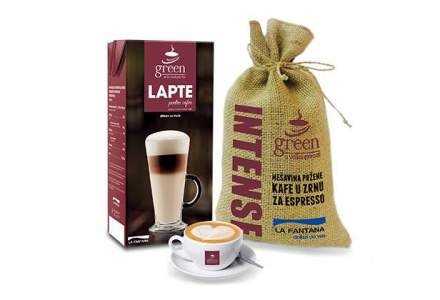(P) La Fantana lanseaza Green, brandul propriu de cafea si produse complementare