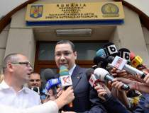 Premierul Victor Ponta,...