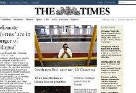 The Times si The Sunday Times, disponibile doar cu taxa de acces