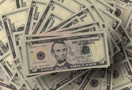 Dolarul american face un salt spectaculos: referinta BNR urca sustinut