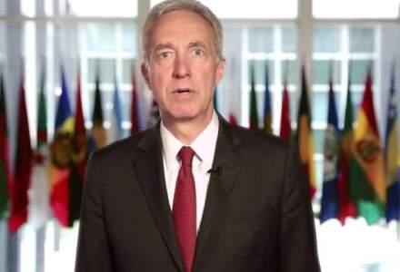 Primul mesaj al ambasadorului SUA, in limba romana: Sunt fermecat de cultura si istoria Romaniei [VIDEO]
