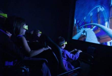 Trei ingineri silvici au deschis un cinematograf 9D, unde simti ca treci prin ecran si devii personajul principal [VIDEO]