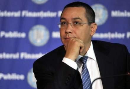 Victor Ponta se intalneste cu reprezentantii BERD la Londra