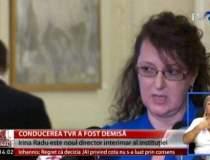 Irina Radu a fost votata sef...