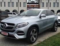 Test cu noile Mercedes-Benz...