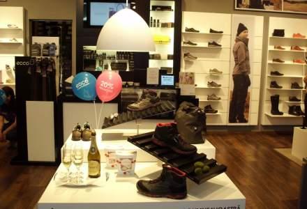Cu 25 de magazine in Romania, brandul danez de incaltaminte Ecco mizeaza pe afaceri in crestere cu 25% in acest an