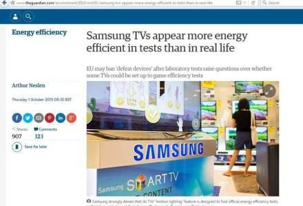 The Guardian: Televizoarele Samsung folosesc mai multe energie in realitate