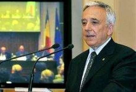 Isarescu: Rezerva valutara internationala a Romaniei nu mai are nevoie sa creasca