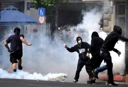 Proteste la Chisinau, principala artera de circulatie a orasului a fost blocata