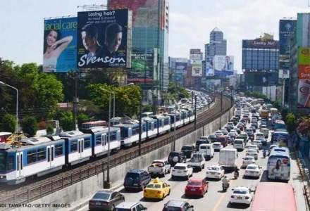 Filipine are cel mai infernal trafic rutier din lume. Un sofer face in medie 45 de minute pana la job