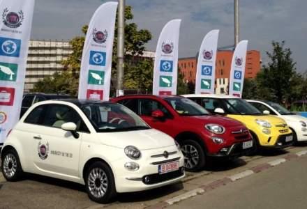 Fiat aduce in Romania primul program de car sharing pentru studenti