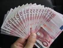 Numarul bancnotelor euro...