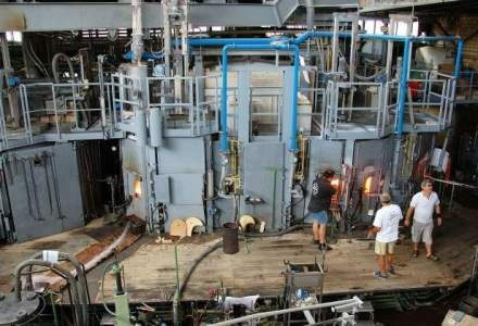 Productia industriala a crescut la opt luni cu 2,9%, impulsionata de industria prelucratoare