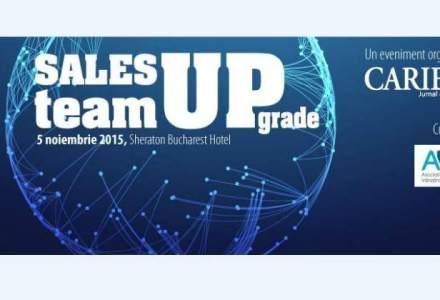 (P) Sales Team UPgrade 2015- Un eveniment dedicat managerilor care inteleg ca performanta in vanzari nu mai este de mult un indicator individual