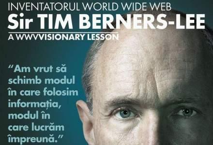 Inventatorul WWW-ului, Sir Tim Berners-Lee, vine in premiera in Romania