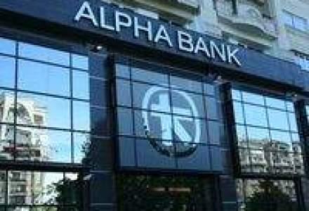 Alpha Bank ar putea fuziona cu o banca straina