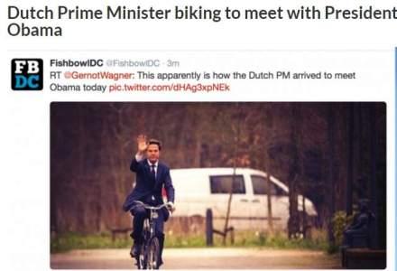 Se poate si fara coloana oficiala! Ei ocupa functii importante si merg cu bicicleta si metroul