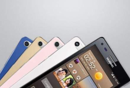 Huawei concureaza Samsung si Apple, cu o crestere a vanzarilor de smartphone-uri de 63%