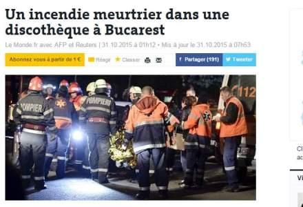Presa internationala relateaza pe larg despre tragedia din Bucuresti