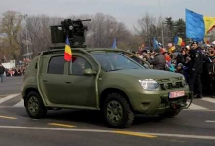 Dacia vrea sa produca Duster Army pentru institutii