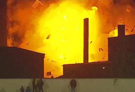 Fabrica Vel Pitar din Brasov, afectata de incendiu, era asigurata la Omniasig