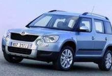 Skoda Auto, vanzari mai mari cu 13% in primele 7 luni