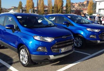Test cu Ford EcoSport in Italia, un competitor pentru Duster, Captur si Mokka