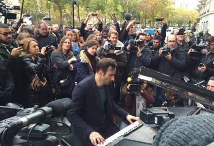 EMOTIONANT. Moment muzical in fata salii Le Bataclan din Paris