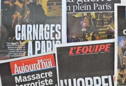 """""""Razboi in plin Paris"""": presa franceza scrie despre """"barbaria terorista"""""""