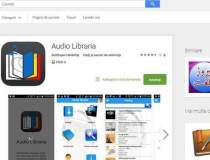 O aplicatie de carti audio...
